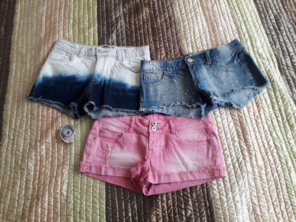 Дънкови къси панталони (С възможност за закупуване като лот)