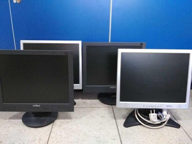 """мониторы """"15-32"""" для видеонаблюдения,HDMI,VGA,DVI хорошая картинка"""