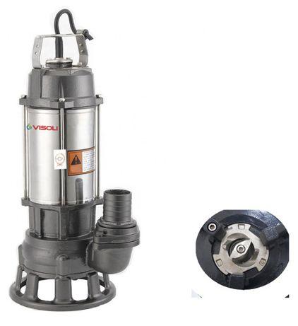 Pompa Submersibila Pofesionala Cu Tocator Visoli - 1.5kw / 20mc/h