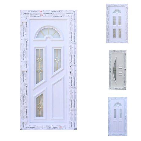 Usa intrare Amely ,panel decorativ,alb
