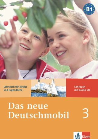 Учебник немецкого языкаDas neue Deutschmobil 3 Lehrwerk für Kinder un