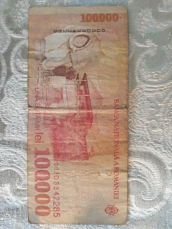Bancnote de 100.000 lei cu chipul lui Nicolae Grigorescu