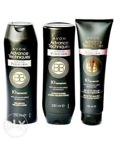 Set BB Avon Advance Techniques - Sampon + Balsam + Balsam Leave-In