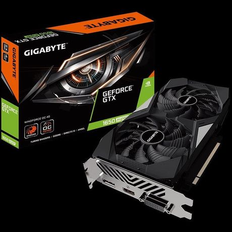 Видеокарта Gigabyte GeForce GTX 1650 Super OC 4GB GDDR6 128bit