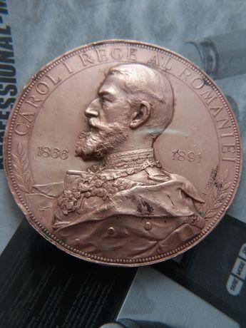 Se vinde:medalieCarol l