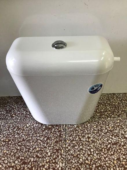 Тоалетно казанче бяло
