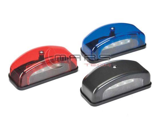 Плафон за регистрационен номер - 24V / диоден / 3 цвята