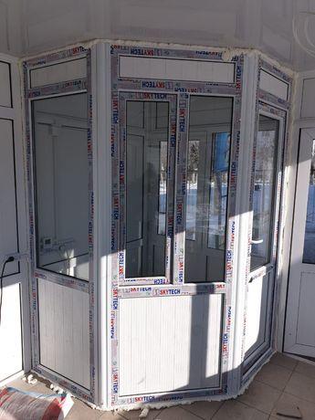 Делаем металлопластиковые окна двери витражи.
