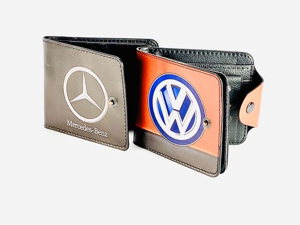 Мъжки портфейл Mercedes Volkswagen VW Фолцваген