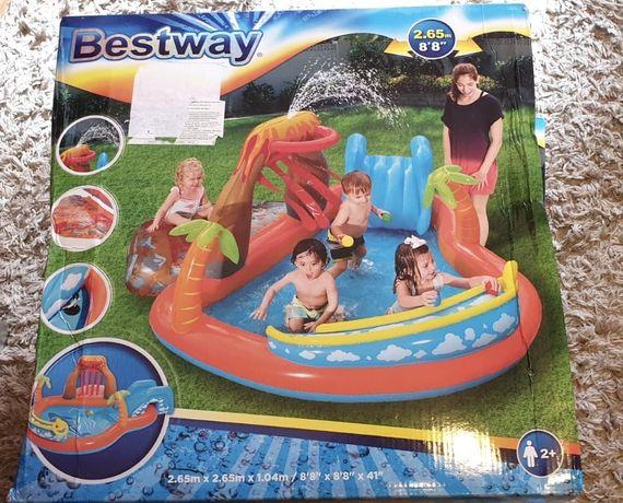 Set mare piscina si jocuri de apa nou bestway