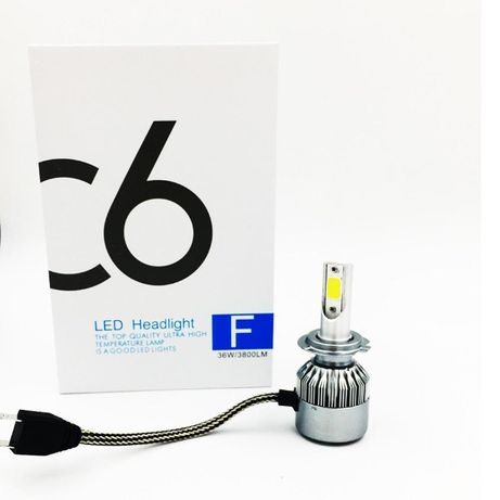 LED светлина авто крушка H7 • H1 • H4