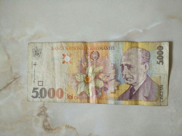 Bancnota 5000 lei (1998)