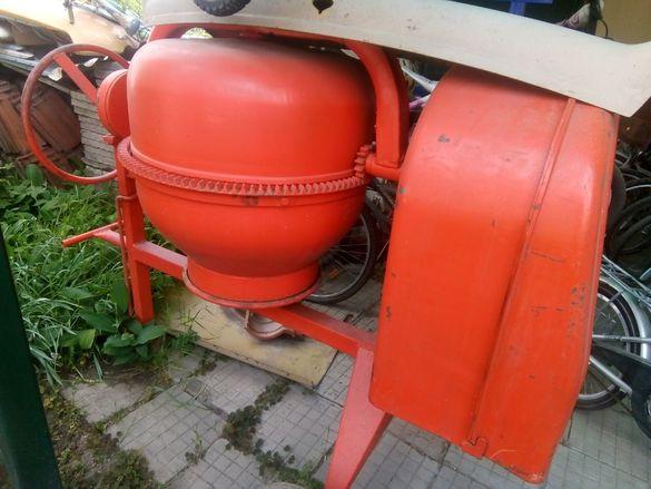 200 литра бетонобъркачка