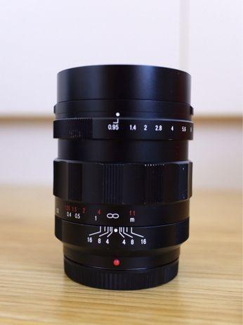 Voigtlander Nokton 17.5mm f/0.95 negru - micro 4/3 MFT