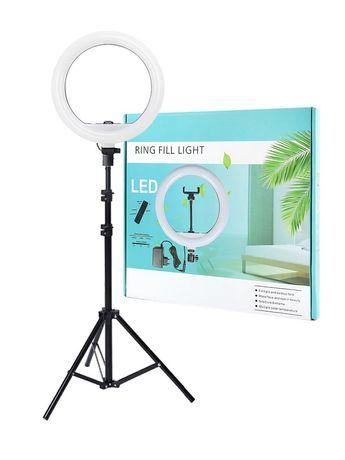 Акция кольцевая лампа 30 см