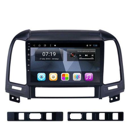 "Навигация 9"" Hyundai Santa Fe андроид"