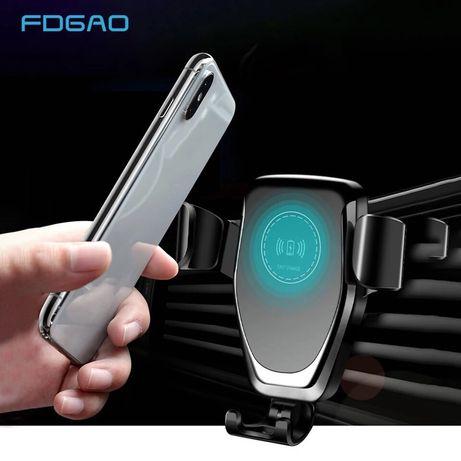 Стойка за кола с бързо безжично зареждане 10w