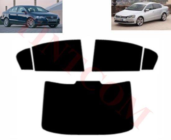 VW Passat B6/B7 (4 врати, седан, 06-13) Фолио за затъмняване на стъкла