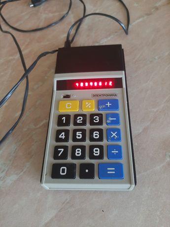 калькулятор электронико СССР 1979 г.