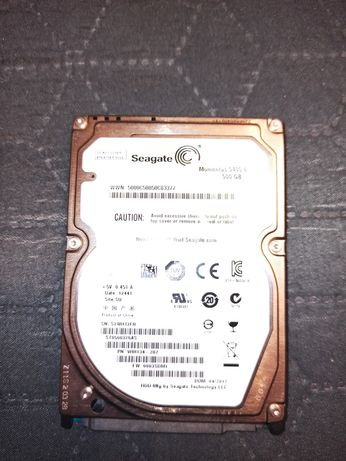 Seagate Hdd Laptop 500Gb