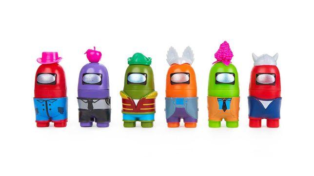 Set 6 Figurine Among US cu piese Detasabile, Personaje Complete 3+
