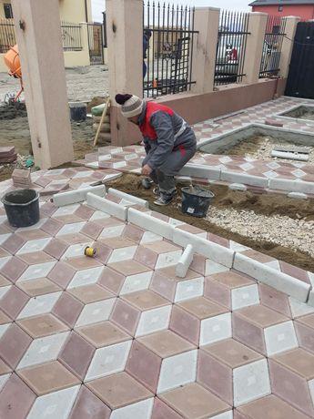 Fabricam pavaje si pavele pentru casa si gradina.Asiguram montaj trans