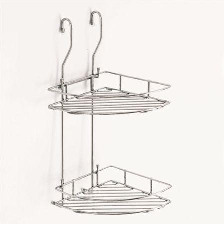 Кухненска ъглова етажерка за релса