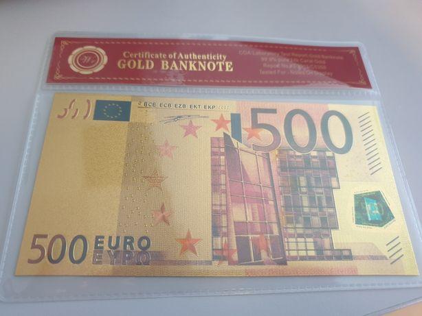 Bancnota 500€ de colectie