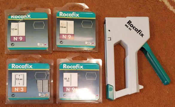 Такер Rocafix MS 05 Esco Rapid 40 Professional Novus J-102 DA