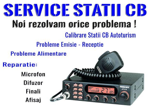 Service - Reparatii Statii radio CB Emisie Receptie statie tir