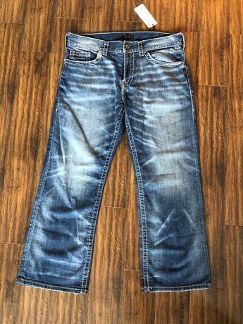 Нови американски маркови мъжки дънки Silver Jeans