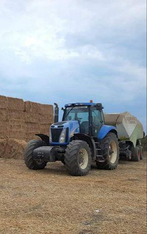 Tractor New Holland T8040 si presa balotat Class Quadrant 3400 rc