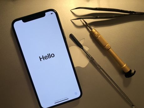 Display/Ecran/spate/carcasa iPhone X Original Apple!