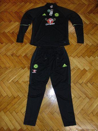 Уникален Тренировъчен Анцуг на Челси Адидас тесен Chelsea Adidas Suit