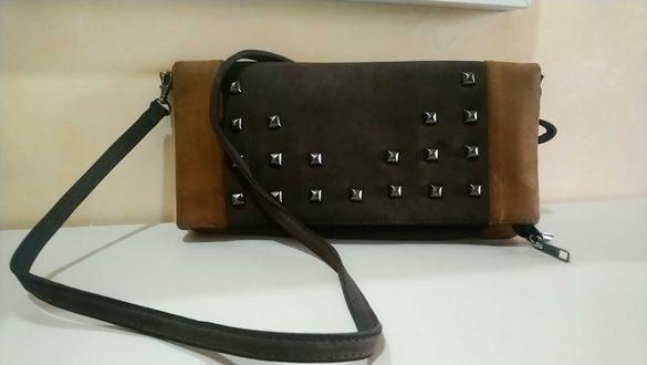 Кафява чантичка