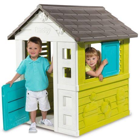Casuta curte copii din plastic gradina,protectieUV,SmobyBERVOLO