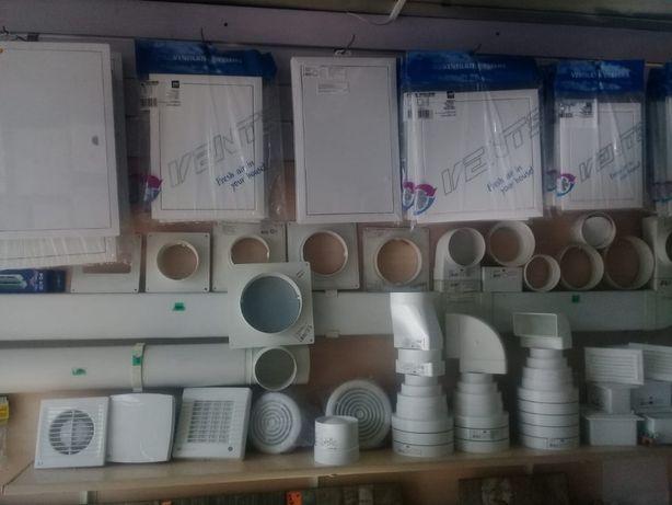 Вентиляция - Системы вентиляции: приточная, вытяжная и ПВХ каналы!