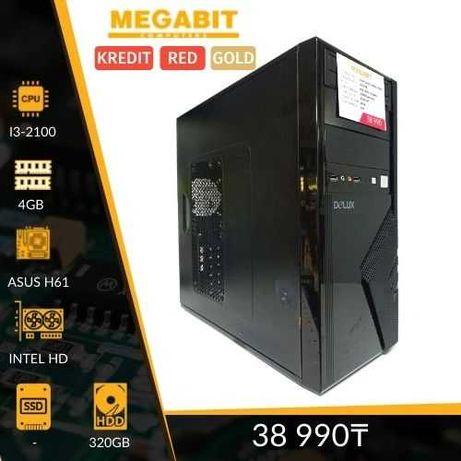 Системный блок для работы и учёбы Core i3-2100  Магазин Мегабит