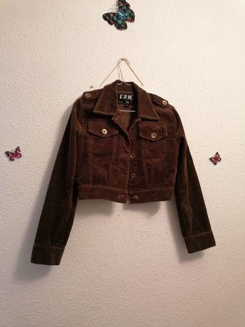 Jacheta catifea raiată
