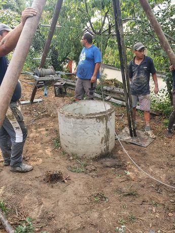 Foraje puțuri apă piloni si denisipări