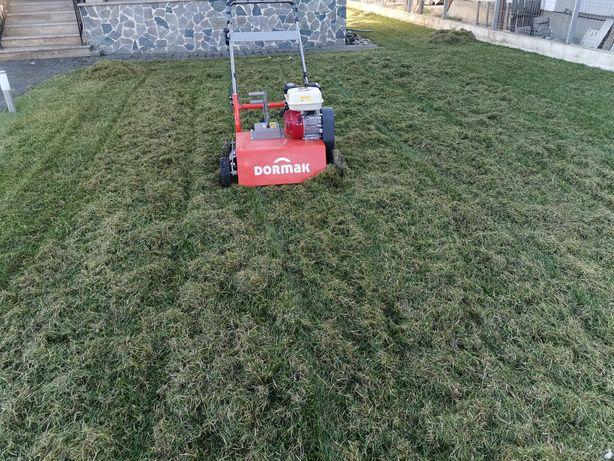 Scarificare gazon - iarba