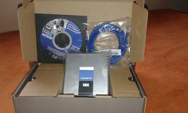 Linksys SPA2102-R - adaptor telefonic cu router incorpora