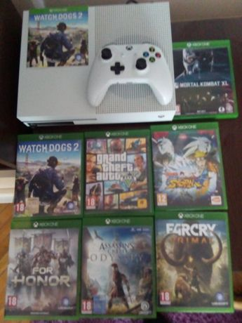 Vand Xbox One+7 jocuri