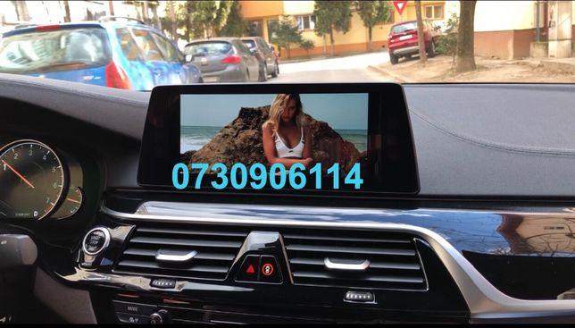 BMW Carplay video in motion la NBT Evo ID5 și ID6, Waze, Google Maps
