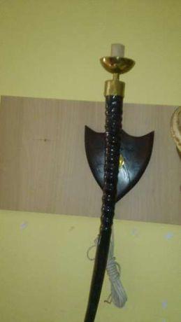 Стенна/настолна лампа от рог на орикс антилопа