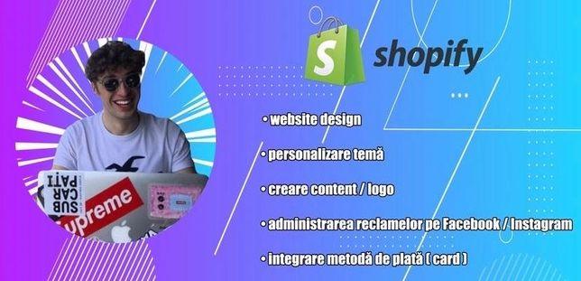 Website Pentru Afacerea Proprie sau Dropshipping