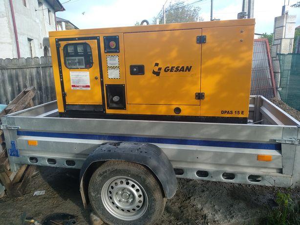 Inchiriez generator 380 ptr.masina de tencuit