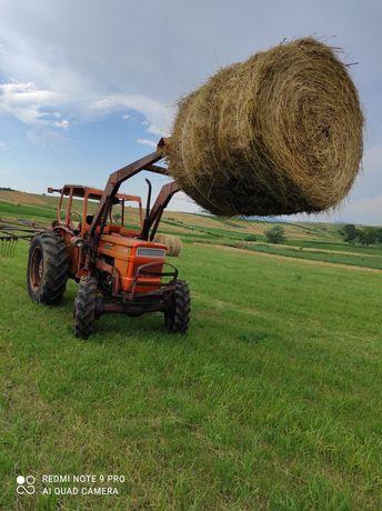 Vând tractor Fiat 450 dtc cu încărcător