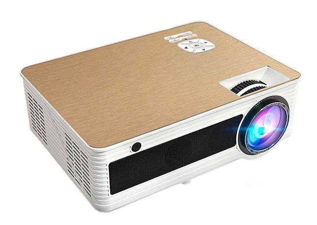 Проектор M5. Хорошая яркость 4000 Люмен, подойдет для дома, офиса, игр