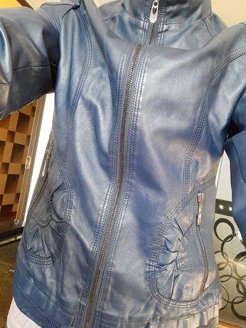 Новая! Куртка кожаная женская Мка